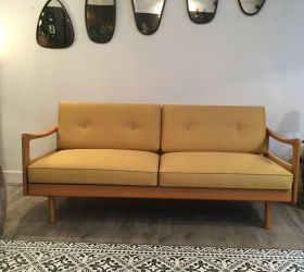 Canapé Daybed jaune